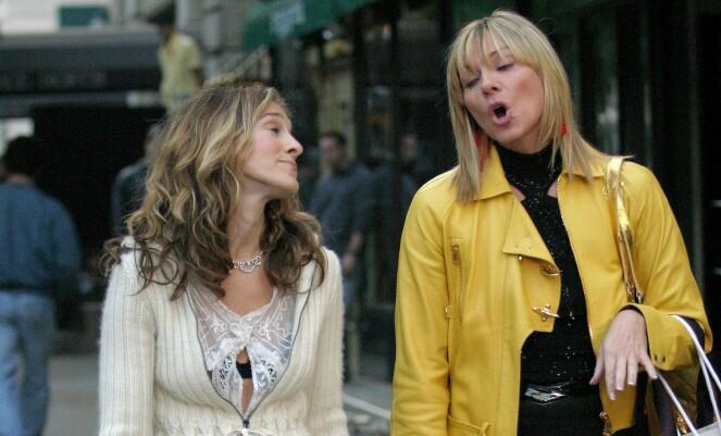 Hvilken mann du bør satse på er et evig spørsmål i Sex og singelliv. Carrie er stadig usikker, mens rollefiguren Samantha stort sett går for det som er deilig der og da! FOTO: Henry Lamb