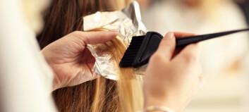 Stripe, farge og klippe håret hjemme?