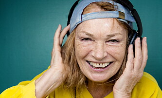<strong>DJ-GRANDMA:</strong> Kari Onstad Winge var de siste ti åra også dj. Foto: Agnete Brun