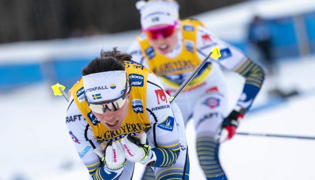 Flere av Charlotte Kallas løpervenninner på det svenske landslaget, er kritiske til opplegget. Foto: Heiko Junge / NTB scanpix