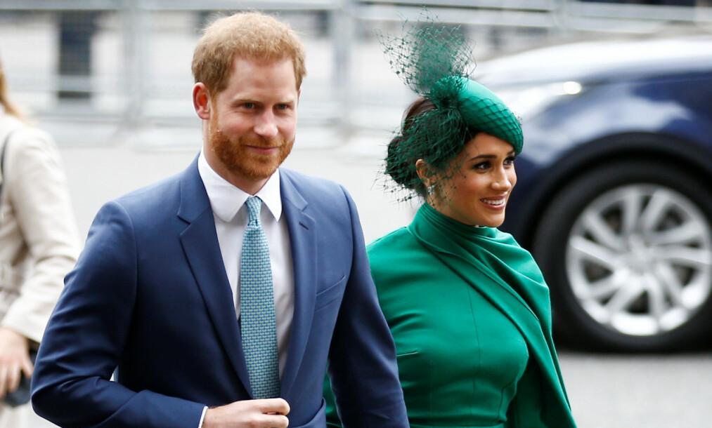 <strong>TRIVES:</strong> Hertuginne Meghan skal angivelig trives svært godt med sin nye tilværelse, langt borte fra Storbritannia. Foto: NTB scanpix
