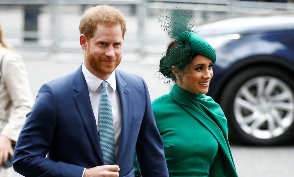 TRIVES: Hertuginne Meghan skal angivelig trives svært godt med sin nye tilværelse, langt borte fra Storbritannia. Foto: NTB scanpix