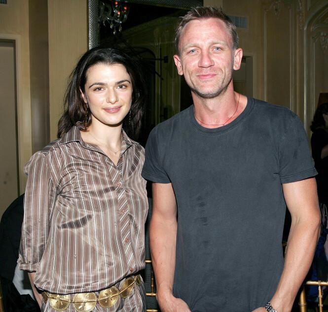 <strong>BLE FORELDRE:</strong> Daniel Craig og Rachel Weisz giftet seg i 2011. Sammen har de en datter. Begge har også barn fra tidligere forhold, som etter alt å dømme blir arveløse. Foto: NTB scanpix