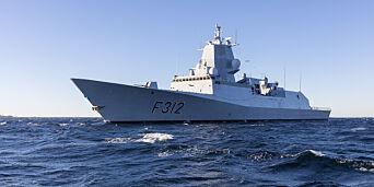 image: Norsk fregatt ledet Nato-jakt