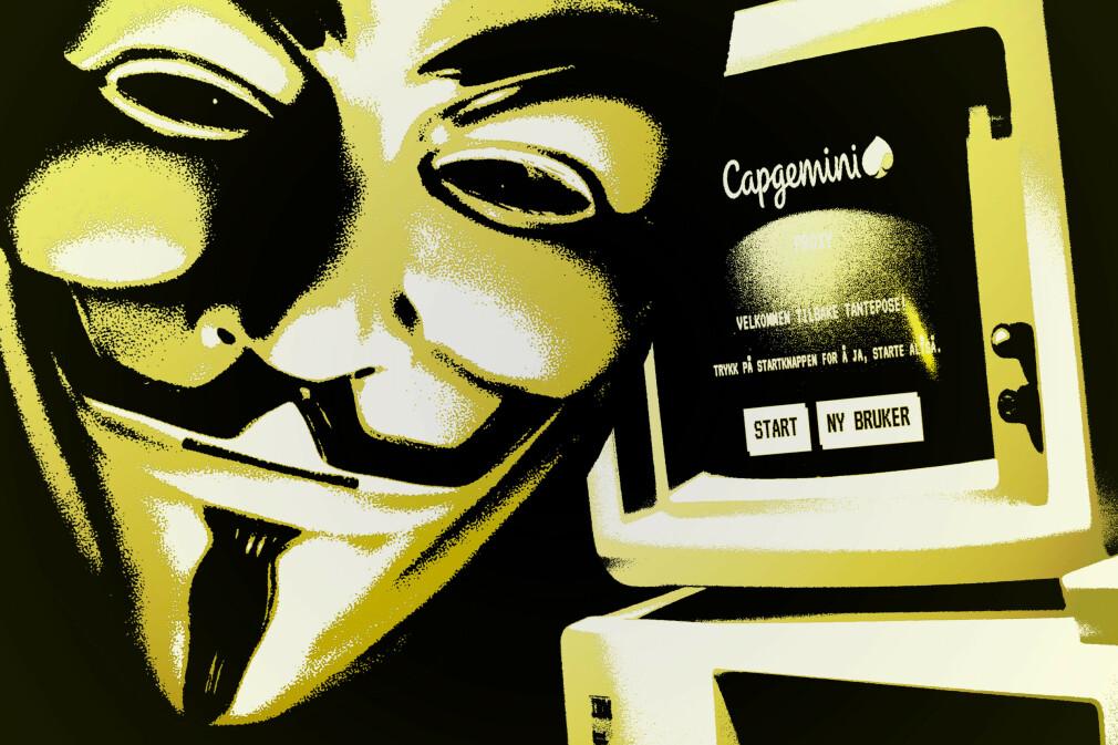 En hacker tukler med Toms Hosting sin konferanse Kjellerstua. Klarer du å stoppe hackeren før konferansen går i vasken? 📸: Ole Petter Baugerød Stokke