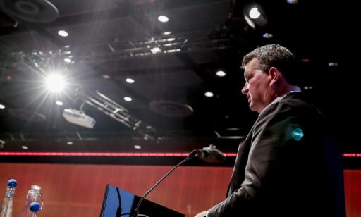 BEKYMRET: LO-leder Hans-Christian Gabrielsen har aldri sett liknende tall for norsk arbeidsliv. Foto: Vidar Ruud / NTB scanpix