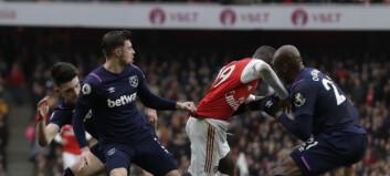 Åtte West Ham-spillere med coronasymptomer