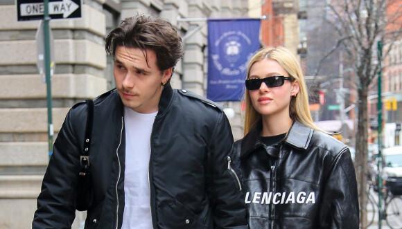FORLOVET: Det unge stjerneparet, Brooklyn og Nicola, forlovet seg for ikke mange ukene siden. Foto: NTB Scanpix