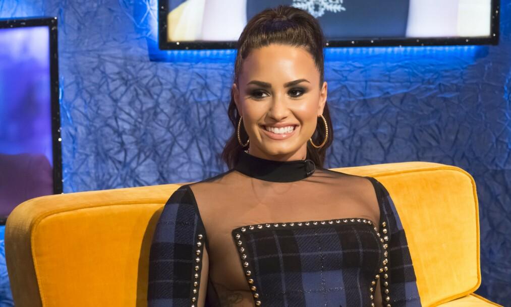 <strong>TABBE?:</strong> De siste ukene har det florert romanserykter om Demi Lovato og skuespiller Max Ehrich. Etter sistnevntes livesending på Instagram i helgen ser det ut til at ryktene har noe sant i seg. Foto: NTB Scanpix