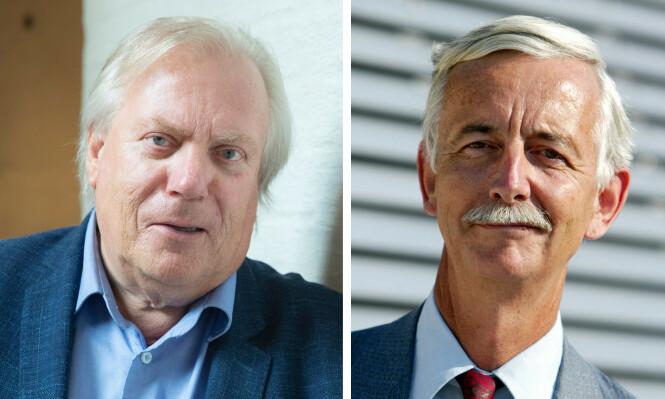 FORFATTEREN OG SØNNEN: Vi har intervjuet forfatter Ingar Sletten Kolloen (t.v.) og Gudrun Rærders sønn Peter Nicolay Ræder. FOTO: NTB scanpix