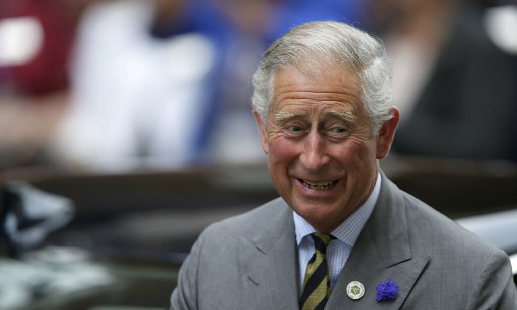 SYV DAGER: Prins Charles er nå ute av isolasjon etter en uke. Foto: NTB Scanpix