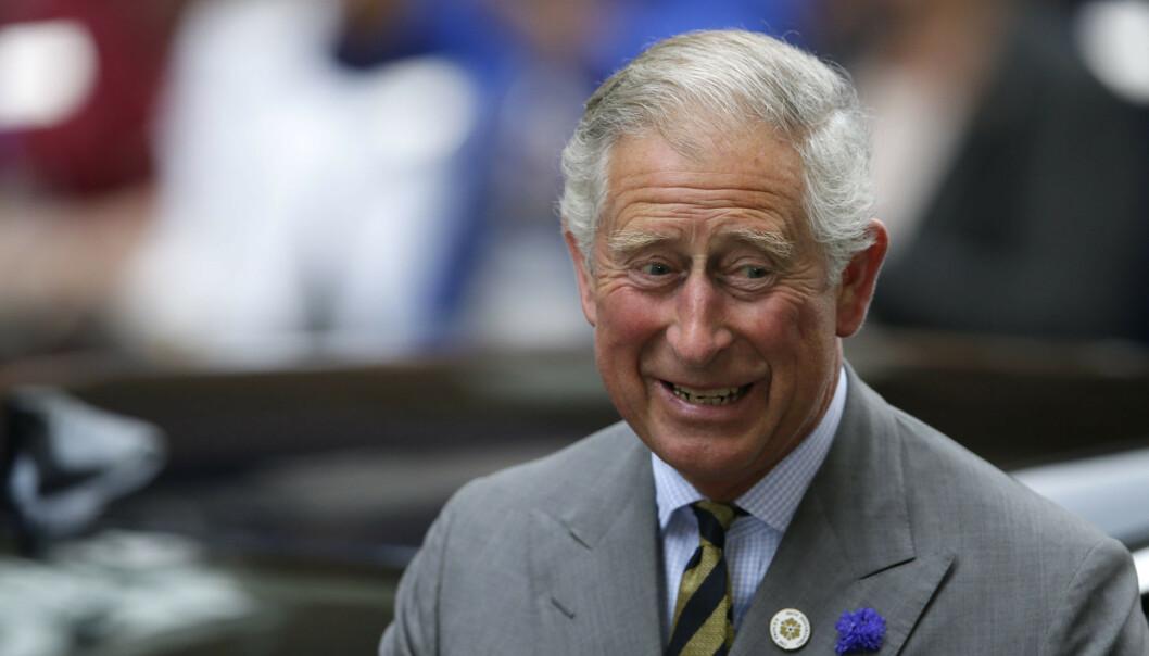 <strong>SYV DAGER:</strong> Prins Charles er nå ute av isolasjon etter en uke. Foto: NTB Scanpix