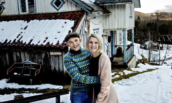 <strong>FÅR BILEN:</strong> Erik Alfred avslørte søndag at premien gir han videre til kona Ellen Marie. Foto: Nina Hansen / Dagbladet