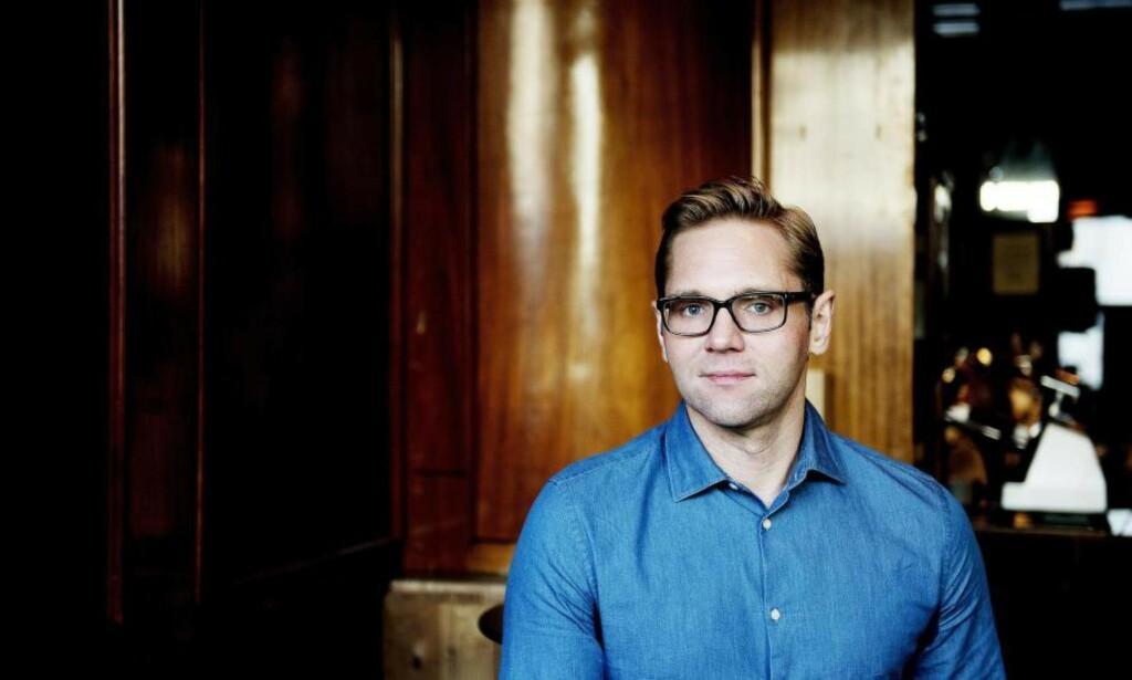 FIKK DATTER: «Åsted Norge»-programleder Jens Christan Nørve ble far på lørdag. Foto: Siv Johanne Seglem