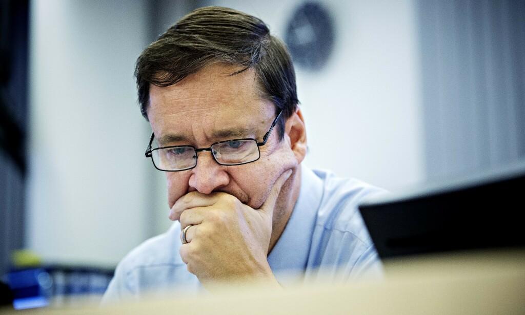 ADVOKAT: John Christian Elden reagerer på politiets avgjørelse. Foto: Nina Hansen