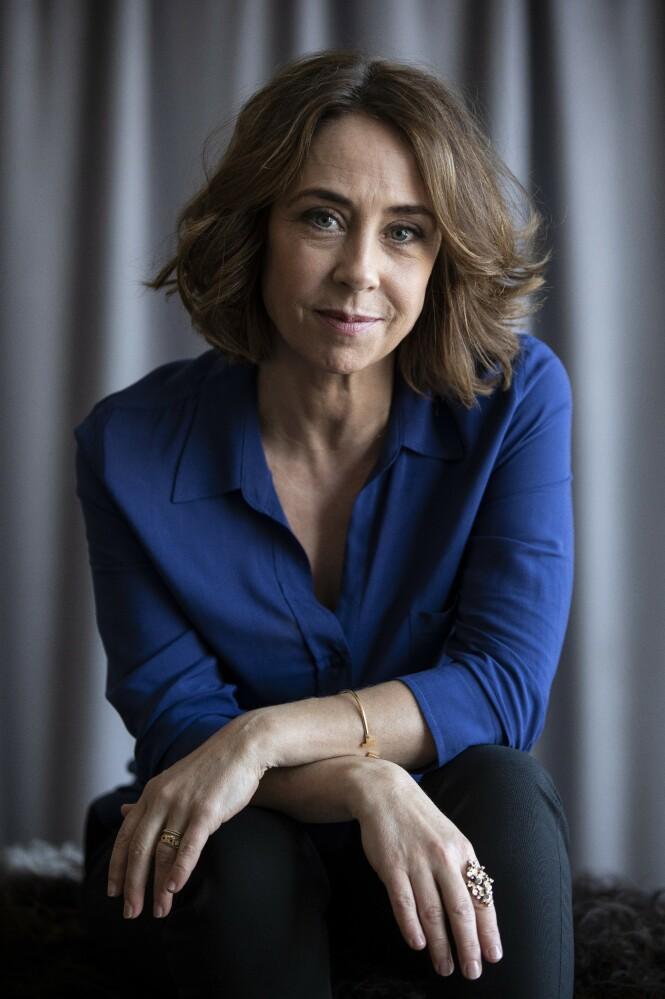 – Jeg merket hvor stor lengsel det hadde vært etter en figur som Sarah Lund, sier Sofie om rollefiguren hun spilte i tv serien «Forbrytelsen». FOTO: Carsten Seidel
