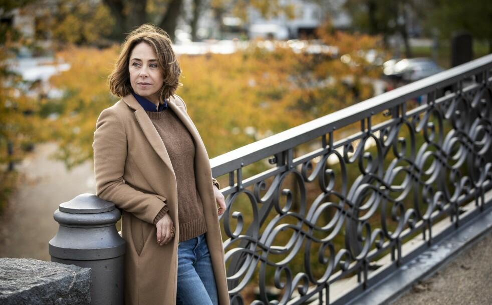SOFIE GRÅBØL: – Jeg har en datter på 15 år, og min angst for at det skal skje noe med henne, påfører jeg av og til   henne, sier Sofie Gråbøl. FOTO: Carsten Seidel