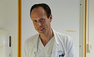 OVERLEGE: Andreas Lin er enhetsleder ved avdeling mikrobiologi i virusavdelingen ved Oslo Universitetssykehus (OUS). Foto: Anders Bayer