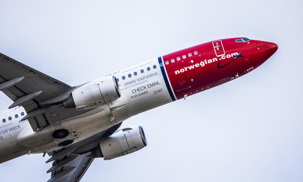 SVIKT: Norwegian flyr ikke til Finnmark i april. Foto: Ole Berg-Rusten / NTB scanpix