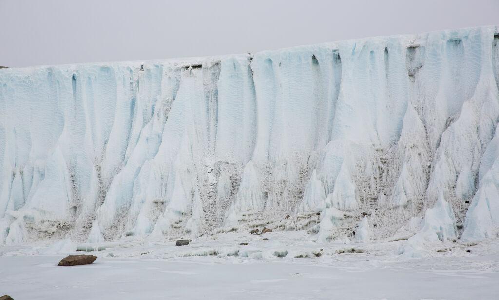 image: Hetebølge i Antarktis
