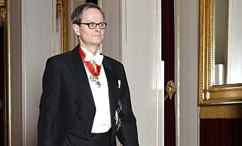 <strong>AMBASSADØR:</strong> Christian Syse, sønn av tidligere statsminister Jan P. Syse, er Norges ambassadør til Sverige. Her er han avbildet på vei inn til diplomatmiddag på Slottet i 2016. Foto: Vidar Ruud / NTB scanpix