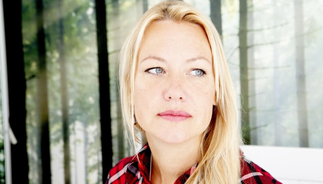 SOSIAL ANGST: Johanna Salenius Sandstrak fikk sosial angst etter flere uventede dødsfall i nær familie. Flere år senere har hun fått et nytt perspektiv på tilværelsen. Foto: Frida Ekman