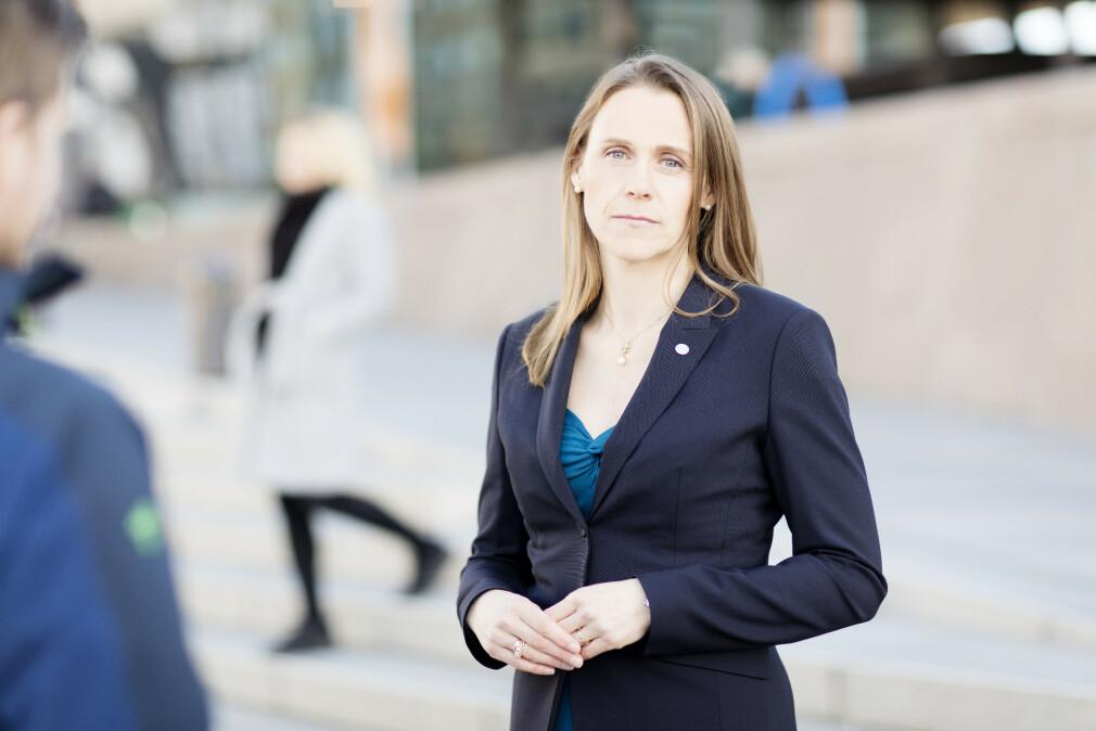 President Lise Lyngsnes Randeberg i Tekna forteller at det varierer mye fra bransje til bransje hvor utsatt utviklere er for permitteringer i koronakrisa. 📸: Thomas Hofmann / Tekna