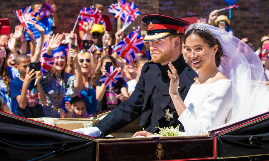 NYTT LIV: Fra onsdag denne uken er ikke prins Harry og hertuginne Meghan lenger medlemmer av det britiske kongehuset. En vemodig dag, sier Se og Hørs kongehusekspert. Foto: NTB Scanpix