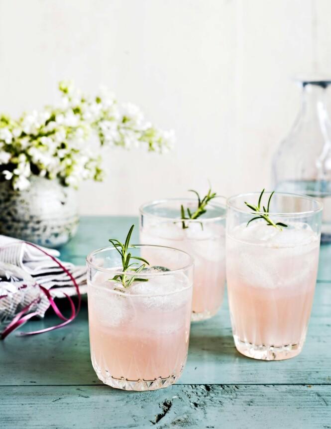 Tips! Du kan kjøpe rosa gin og tilsette grapefruktsaft som alternativ til de røde blodgrapefruktene, hvis du ikke får tak i dem.