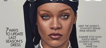 Rihanna-forside skaper historie