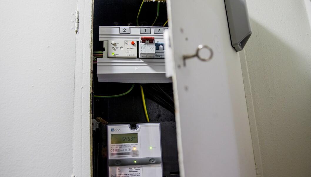 <strong>STRØMPRISER:</strong> Du skal langt tilbake i tid for å finne like lave strømpriser som nå. Foto: Stian Lysberg Solum/NTB scanpix