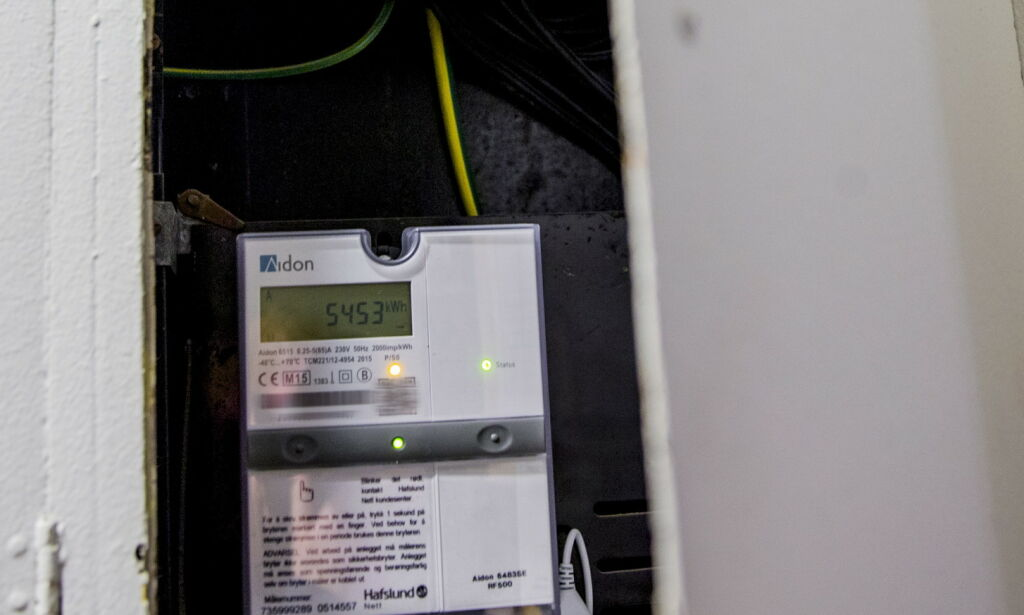 image: Laveste strømpris siden 1993