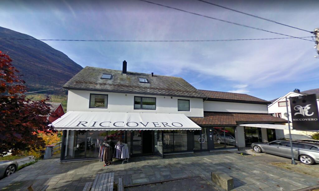 KONKURS: Den norske kleskjeden Riccovero, som hadde hovedkontor i Olden i Sogn og Fjordane, er konkurs. Foto: Google Maps