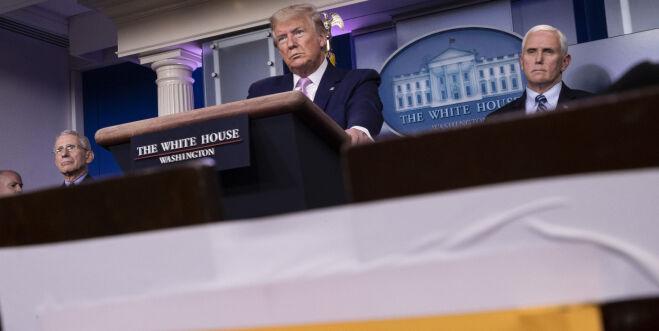 image: - USA stakk av med et lass med masker som Frankrike hadde bestilt