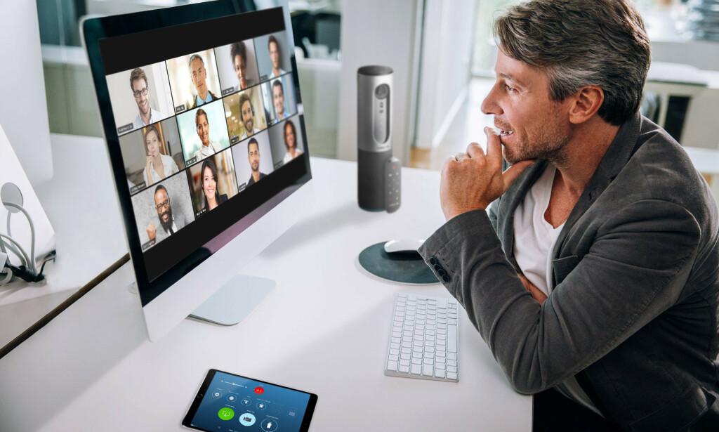 UNDER LUPEN: Zoom er blant de mest brukte videosamtale-appene om dagen, men etter flere hendelser er personvernet blitt en bekymring. Foto: Zoom