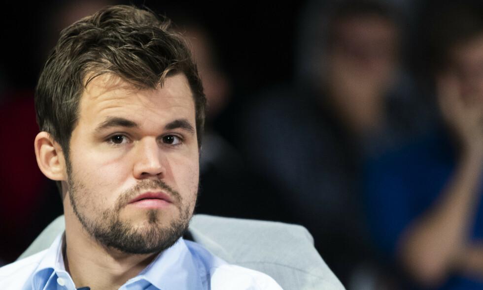 TIL FINALE: Magnus Carlsen. Foto: NTB Scanpix