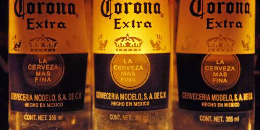 image: Stanser produksjonen av Corona-øl