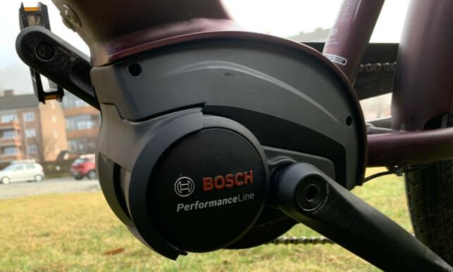 Ikke den kraftigste til Bosch, men Performance Line-motoren på 65 Nm yter svært godt. Foto: Martin Kynningsrud Størbu