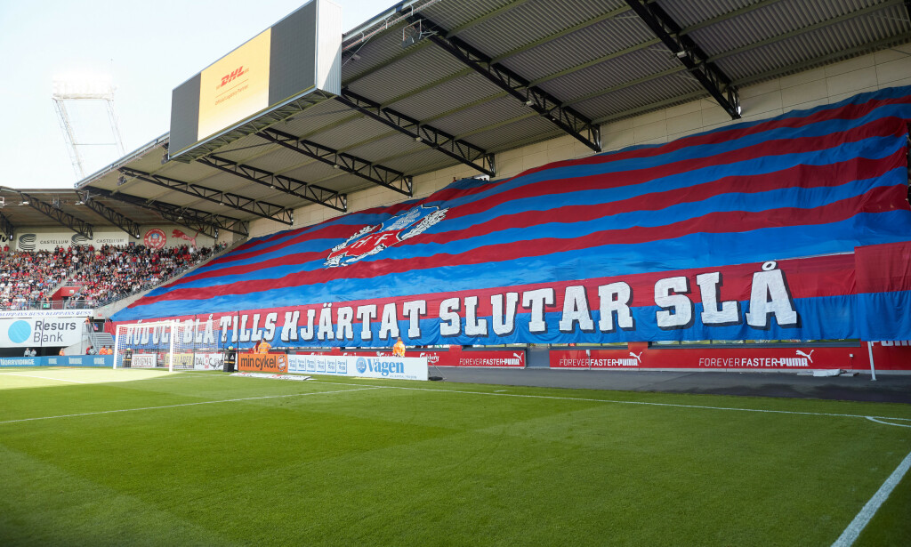 STOPP: For tiden spilles det ikke fotball i Allsvenskan. Foto: Andreas Hillergren / TT / NTB scanpix.