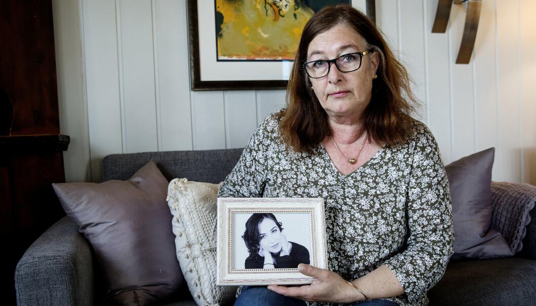 <strong>SAVNET:</strong> - Nerid var min eneste datter. Vi hadde et tett og godt forhold, forteller moren Ellen Høiness. Foto: Henning Lillegård/Dagbladet