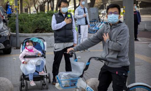 image: Kina stoppet opp i tre minutter