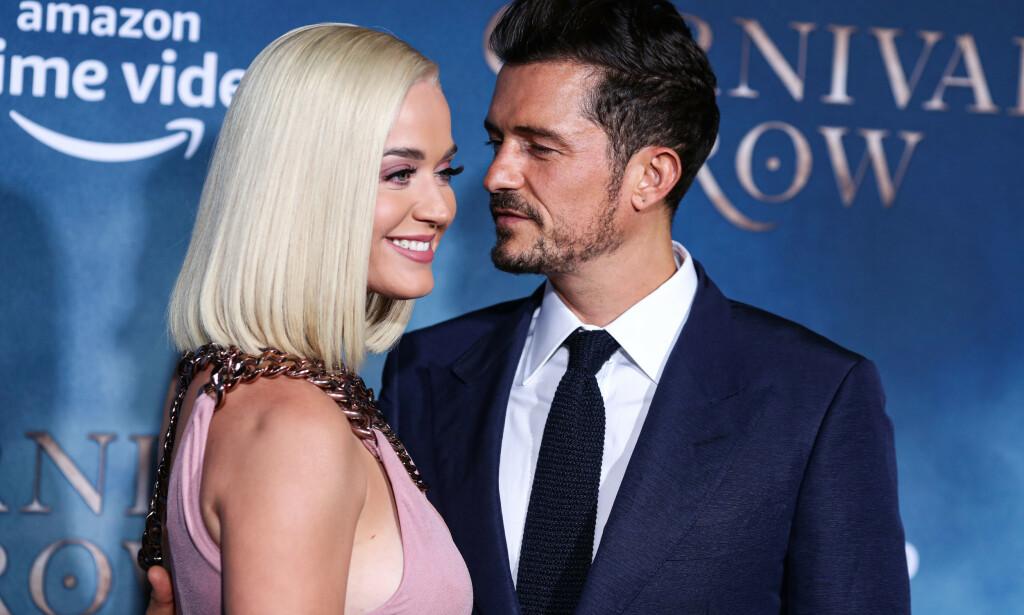 BLIR FORELDRE: Katy Perry og Orlando Bloom. Foto: NTB Scanpix