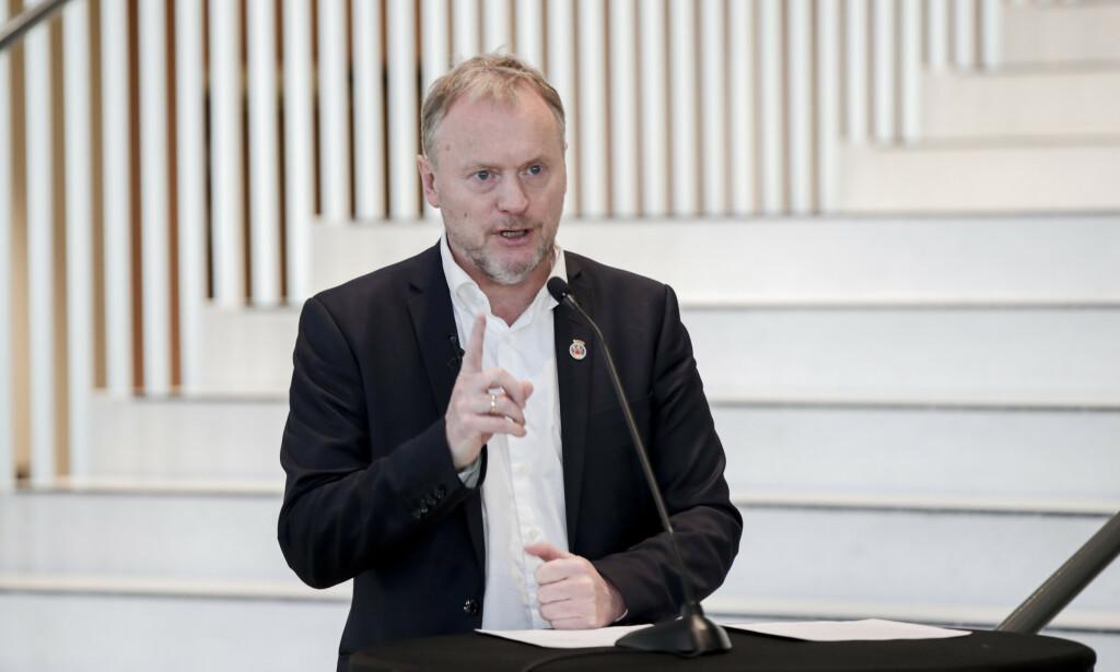 FØLGER mED: Byrådsleder Raymond Johansen (Ap) vil følge med på påsketrengselen. Foto: Vidar Ruud/NTB Scanpix