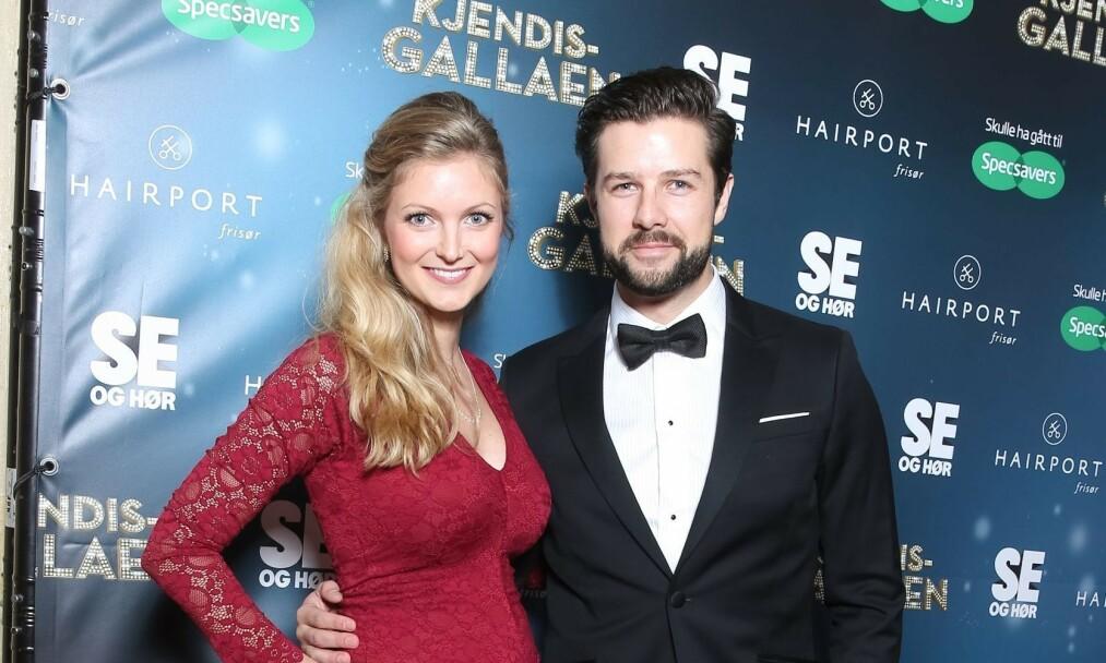 <strong>BABYLYKKE:</strong> Didrik Solli-Tangen og forloveden Angelica Omre har blitt foreldre igjen. Foto: Andreas Fadum / Se og Hør