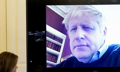image: Boris Johnson overført til intensivavdeling