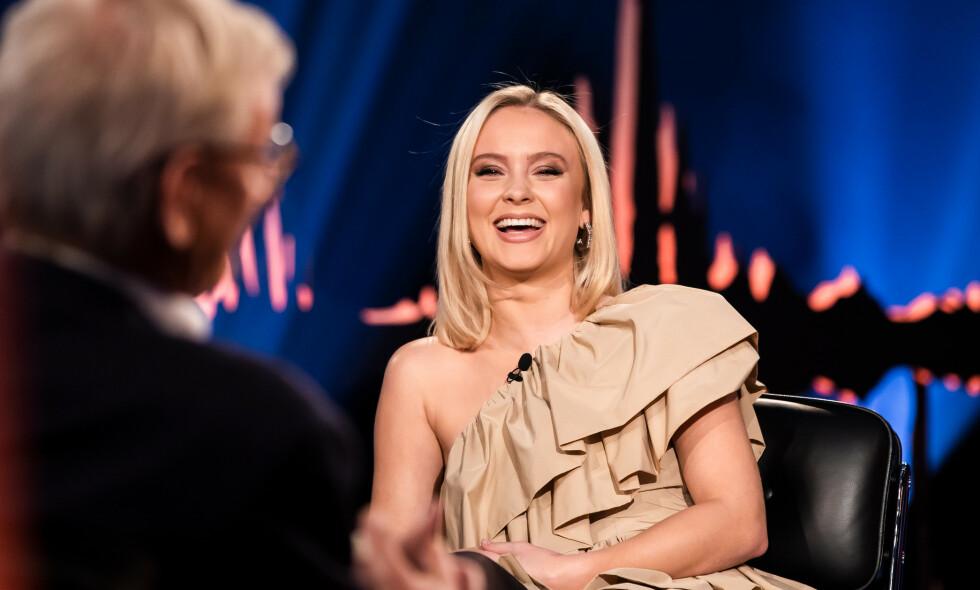 ÆRLIG: Svenske Zara Larsson åpnet opp om dating og kjærlighet i forrige ukes sending av TV 2-programmet «Skavlan». Foto: NTB Scanpix