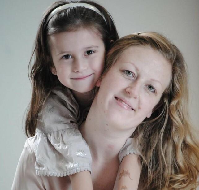 MOR OG DATTER: Mamma Pia og datteren Lea. Foto: Privat