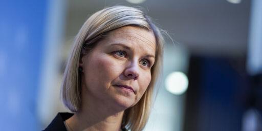 image: Kunnskapsminister Guri Melby, can you hear me?