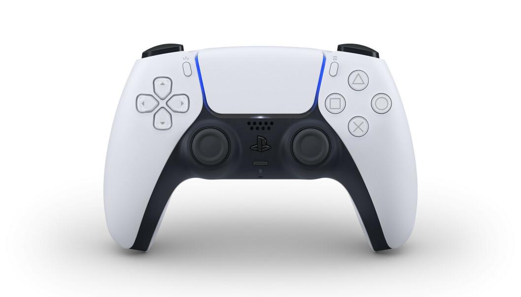 <strong>DUALSENSE:</strong> Sony har avslørt kontrollen til PlayStation 5. Foto: Sony