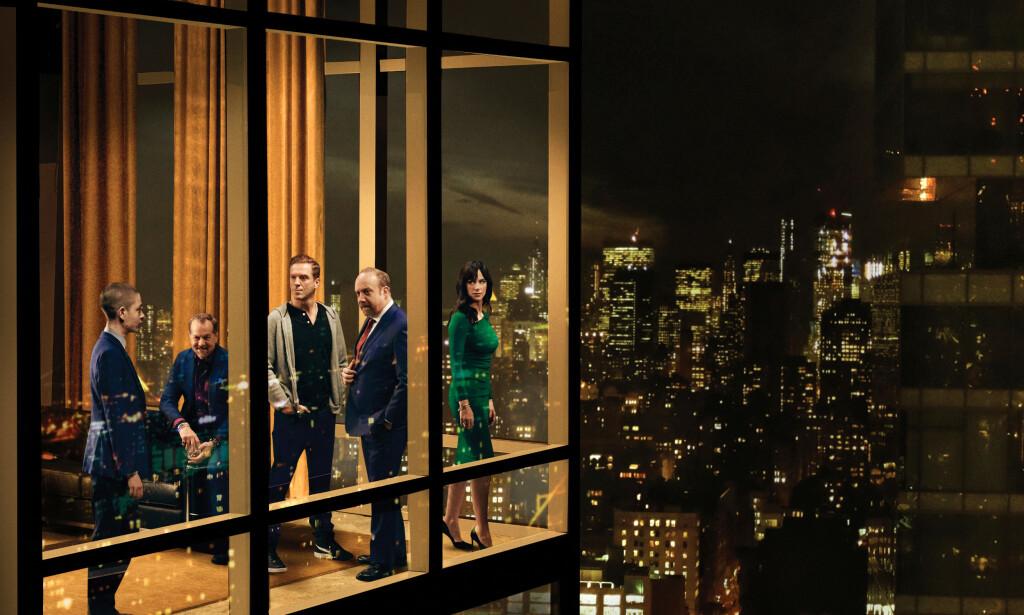 BILLIONS: Én av flere HBO-serier som rammes av coronapandemien. Foto: HBO Nordic